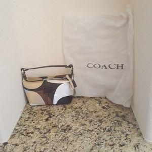 Mini coach handbag w/ dust cover